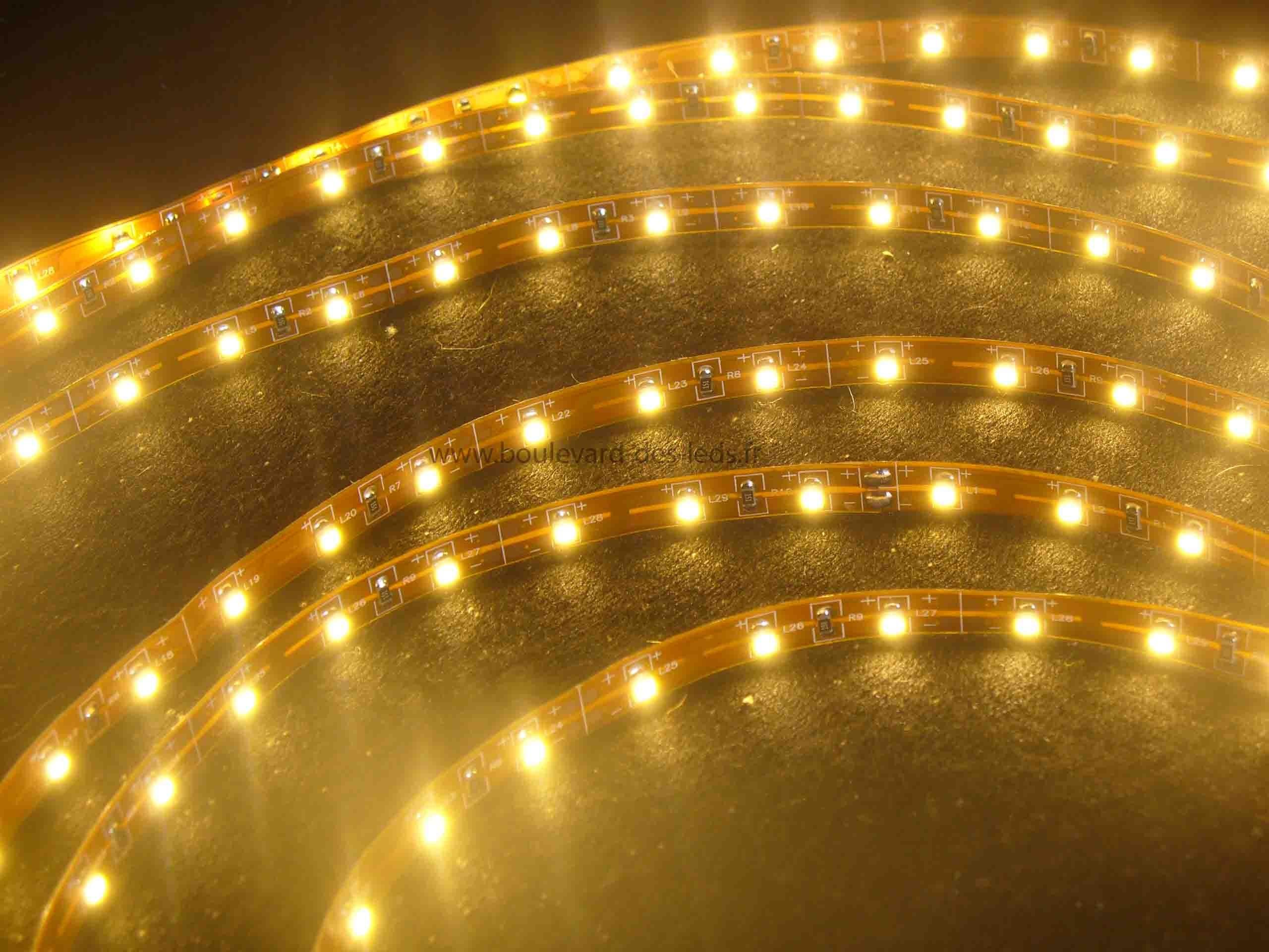 Bandeaux LED, outils de décoration faciles à installer