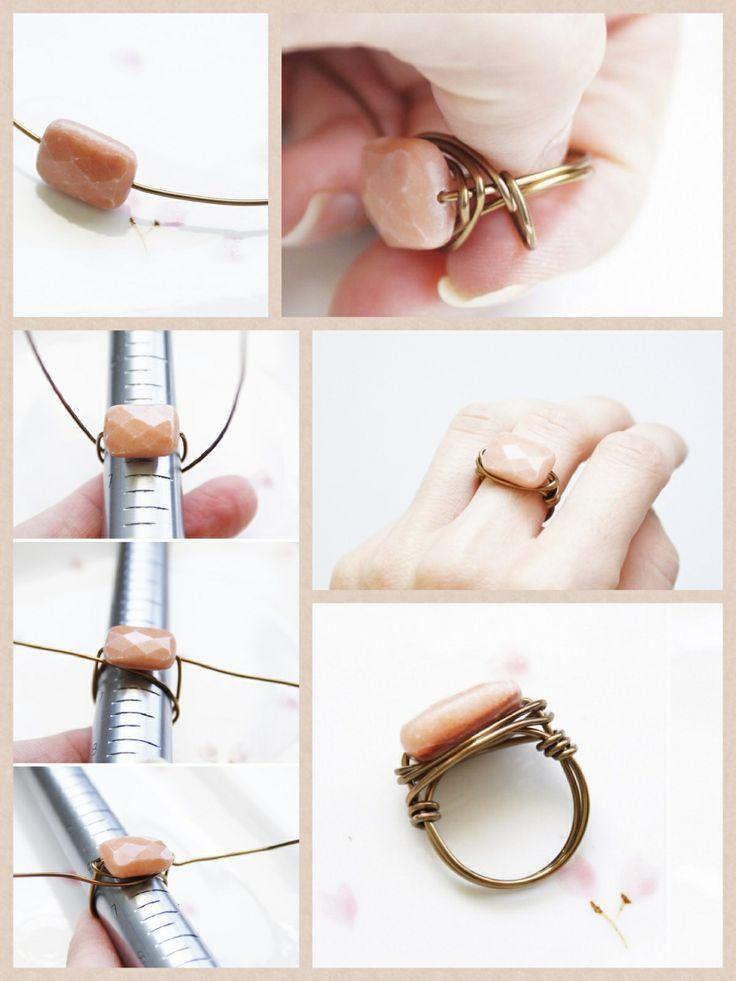 DIY bijoux : comment fabriquer une bague chainette ?