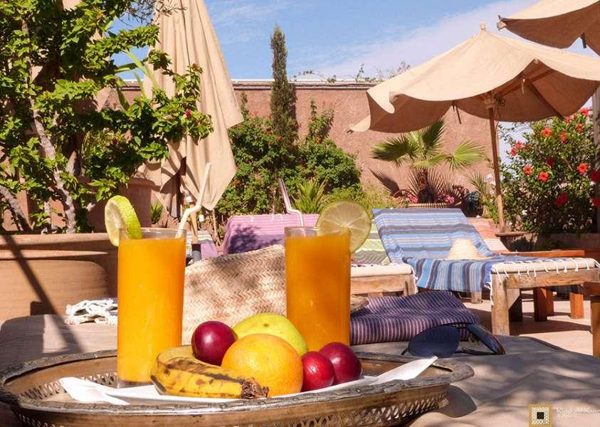 Des vacances top dans un riad à Marrakech!