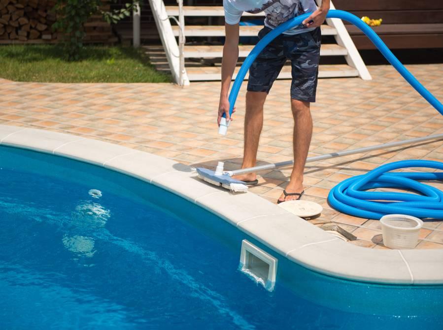 entretien de mon piscine