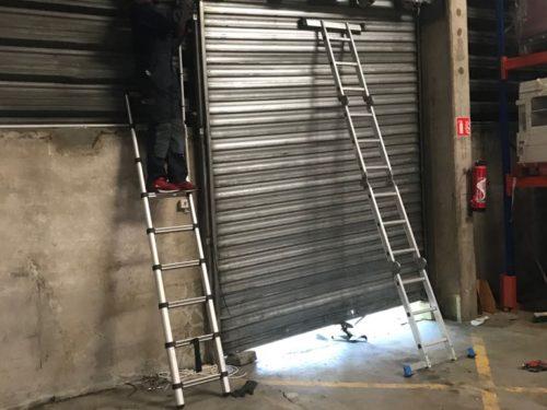 Réparation rideau métallique sur paris